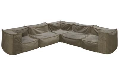 Legacy Classic Crash Pad 5 Piece Sectional