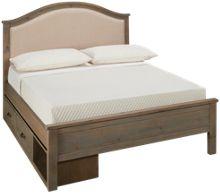 NE Kids Highlands Full Bailey Upholstered Storage Bed