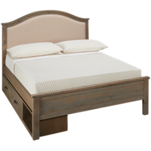NE Kids Highlands Full Bailey Upholstered Storage Bed