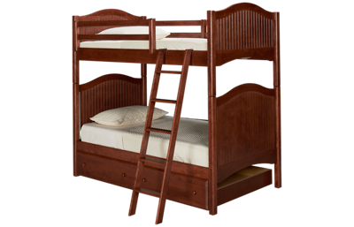 Oak Designs Surf City Twin over Twin Trundle