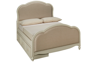 Legacy Classic Harmony Full Upholstered Bed with Storage
