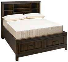 Liberty Furniture Thornwood Hills Full Bookcase Storage Bed