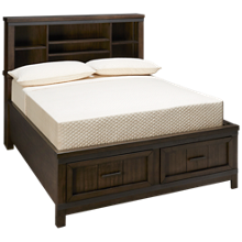 Liberty Furniture Thornwood Hills Full Bookcase Storage Bed