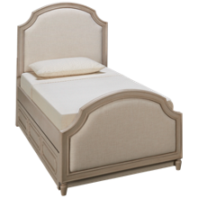 Legacy Classic Emma Twin Upholstered Trundle Bed