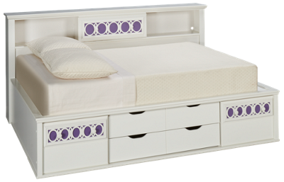 Ashley Zayley Full Bookcase Bed