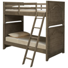 Legacy Classic Farm House Twin Over Twin Bunk Bed