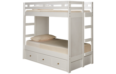 Legacy Classic Rachael Ray Chelsea Twin over Twin Bunk Bed with Trundle