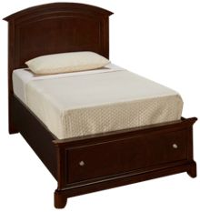 Legacy Classic Impressions Twin Panel Bed with Storage Footboard