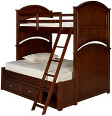Legacy Classic Impressions Twin Over Full Bed with Storage