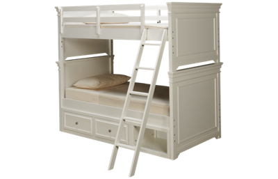 Legacy Classic Canterbury Twin Over Twin Bunk Bed with Underbed Storage