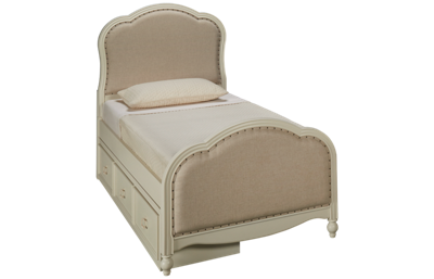 Legacy Classic Harmony Twin Upholstered Bed with Storage