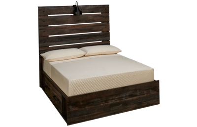 Ashley Drystan Full Panel Bed with Storage Drawers