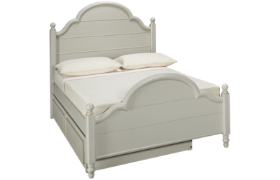 Legacy Classic Inspirations Full Low Poster Panel Bed