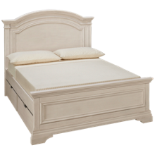 Westwood Designs Olivia Full Panel Bed with Underbed Storage