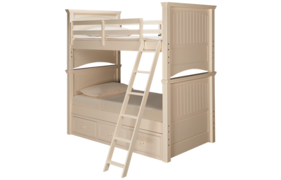 Legacy Summerset Twin Over Twin Bunk Bed with Storage
