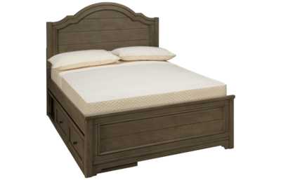 Legacy Classic Farm House Full Panel Bed with Underbed Storage
