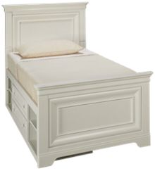 Universal Classics 4.0 Twin Panel Bed with Storage Unit