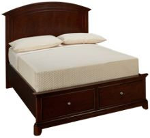 Legacy Classic Impressions Full Panel Bed with Storage Footboard
