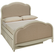 Legacy Classic Harmony Full Upholstered Bed with Trundle