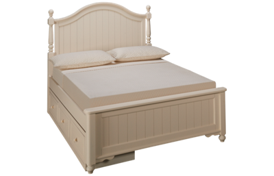 Legacy Classic Summerset Full Low Poster Storage Bed