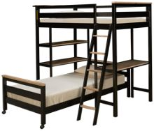 Universal # My Room Twin Over Twin Loft Bunk Bed