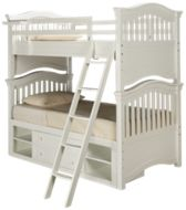 Universal Classics 4.0 Twin over Twin Bunk Bed with Storage Unit