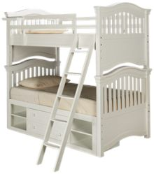 Universal Classics 4.0 Twin over Twin Bunk Bed with Storage Drawer
