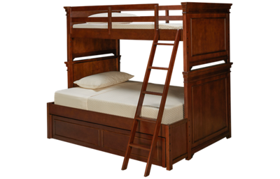 Legacy Classic Canterbury Twin Over Full Bunk Bed with Trundle