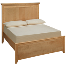 Maxwood Furniture Boston Full Plank Bed
