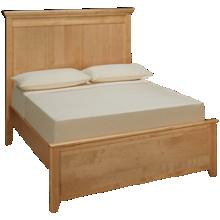 Maxwood Furniture Boston Full Plank Bed