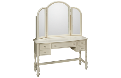 Legacy Classic Harmony Desk with Vanity Mirror