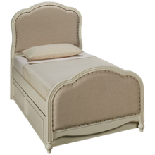 Legacy Classic Harmony Twin Upholstered Bed with Trundle