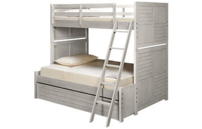 Legacy Classic Summer Camp Twin over Full Bunk Bed with Trundle