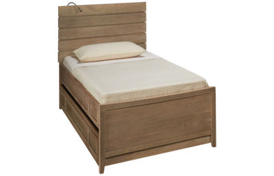 Universal #myRoom Twin Reading Panel Bed with Trundle