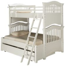 Universal Classics 4.0 Twin Over Full Bunk Bed with Trundle Unit