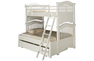 Universal Classics 4.0 Twin Over Full Bunk Bed with Trundle
