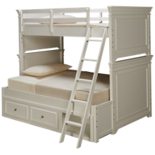 Legacy Classic Canterbury Twin Over Full Bunk Bed with Underbed Storage