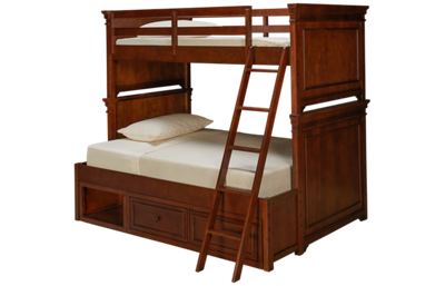 Legacy Classic Canterbury Twin Over Full Bunk Bed