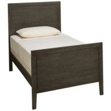 Oak Furniture West Owen Twin Panel Bed