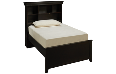 Maxwood Furniture Boston Twin Bookcase Bed