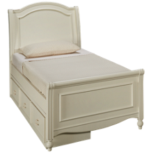 Legacy Classic Harmony Twin Sleigh Storage Bed