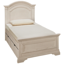 Westwood Designs Olivia Twin Panel Bed with Underbed Storage