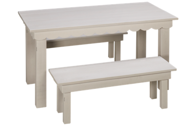 Magnolia Home Kid's Haven Table with Two Benches
