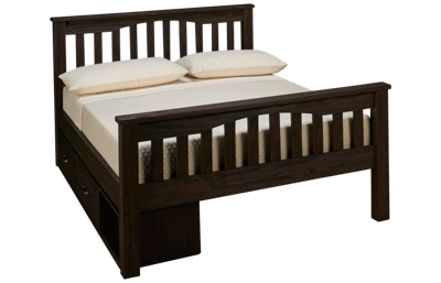 NE Kids Full Harper Bed with Storage