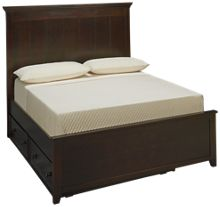 Maxwood Furniture Boston Full Plank Bed with Trundle