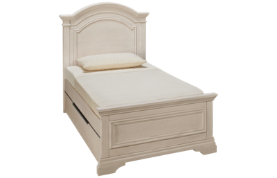 Westwood Designs Olivia Twin Panel Bed with Underbed Trundle