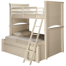 Legacy Classic Summerset Twin over Full Bunk Bed with Underbed Storage Drawer