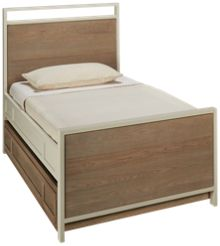 Universal #myRoom Twin Panel Bed with Trundle