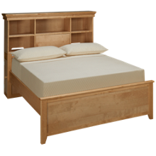Maxwood Furniture Boston Full Bookcase Bed
