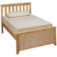 Maxwood Furniture Chester Twin Bed